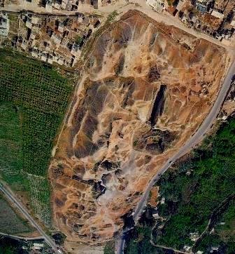 Bible Warriors: Joshua. Modern excavations of the biblical city of Jericho