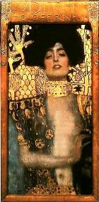 Klimt's painting 'Judith with the head of Holofernes