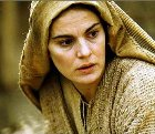 Bible Heroines: Mary of Nazareth as portrayed in the movie 'Passion of the Christ'