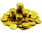 Hell, how to get there: pile of gold coins