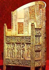 Throne covered with ivory plaques (Ravenna)