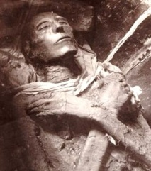 Bible Murders: Pharaoh. The mummified corpse of Sethos I, who may be the Pharaoh referred to in the Book of Exodus story about the murdered Israelite babies