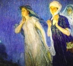 Bible Heroine, Joanna. Henry Ossawa Tanner, The Three Marys