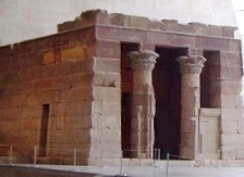The Temple of Yahweh in Jerusalem had fallen into disrepair, similar to the Temple of Dendur pictured here. King Josiah was attempting to repair the Jerusalem Temple.