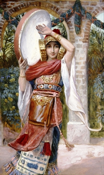 Jephtah's Daughter, by James Tissot