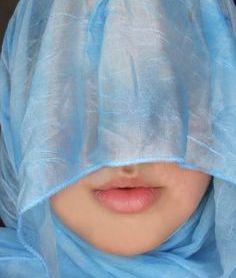 Leah - veiled woman