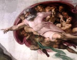 Christian Music, Te Deum, da Vinci, Creation of Man, Sistine Chapel
