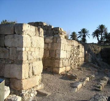 The gates of Megiddo, where Josiah died