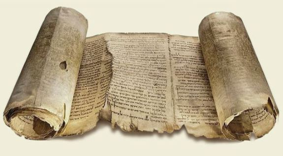 Ancient scroll of the Bible, Book of Isaiah