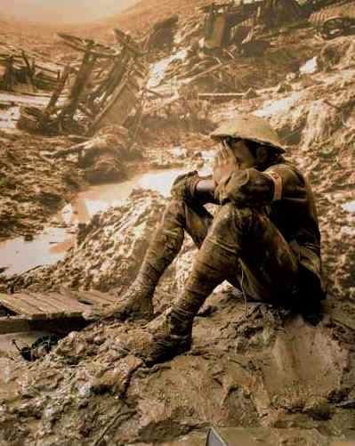 Bible Warrior, Soldier: soldier lost in a sea of mud, as Barak was