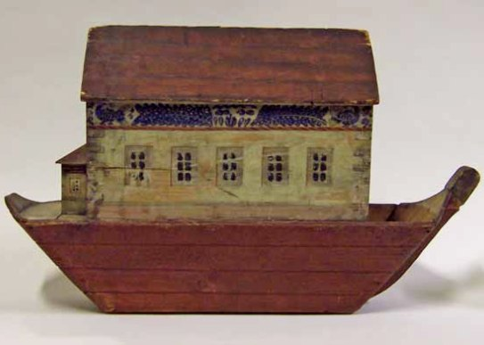 Noah and the Flood: 18th or 19th century child's toy, unknown maker, Manchester Art Gallery