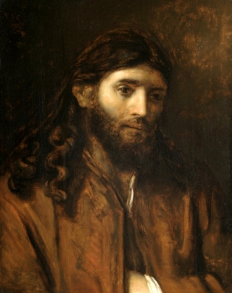 The head of Christ, circle of Rembrandt