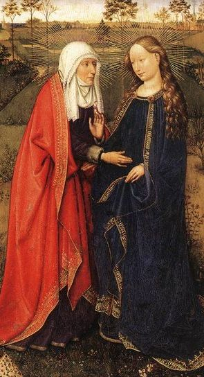 The Visitation, by Jacques Daret