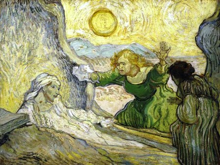 Van Gogh's extraordinary painting of the resurrection of Lazarus