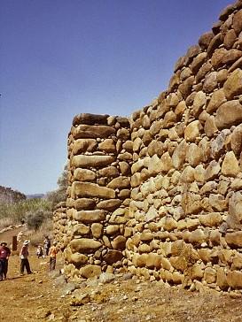 Reconstruction of ancient city walls