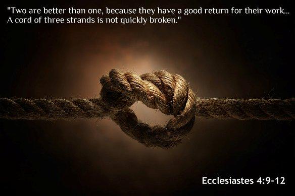 Book of Ecclesiastes 4:9-12
