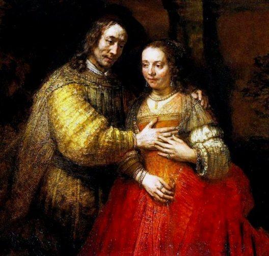 The Jewish Bride, Rembrandt