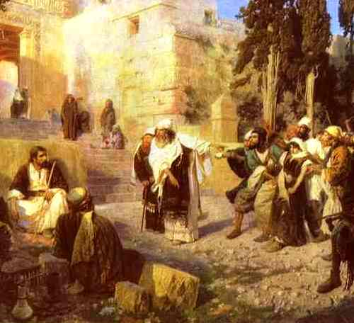 Christ and the Woman Taken in Adultery, Vasiliy Polenov