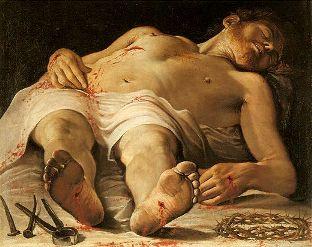 Annabale Carracci, The Dead Christ