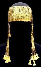 Jewelled headdress from ancient Troy