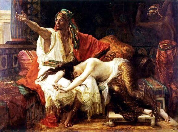 Bible Princess: Tamar and her brother Absalom, by Alexandre Cabanel