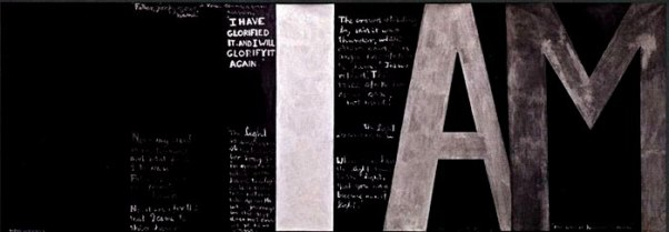 Colin McCahon's majestic painting 'I Am'