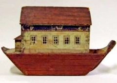 Noah, Ark paintings: Child's toy Ark, 18-19th century, Manchester Art Gallery