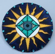 Symbol of the all-seeing eye