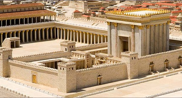 The Temple of Jerusalem, still under construction at the time Elizabeth and Zechariah lived, was a magnificent building