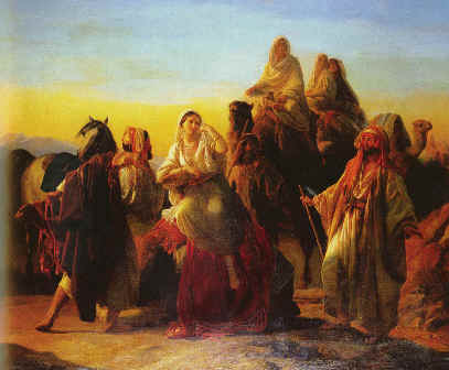 The Meeting of Isaac and Rebekah, Friedrich Bouterwek