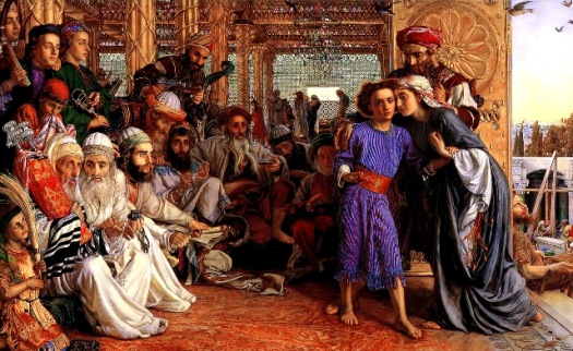 Finding the Savior in the Temple, William Holman Hunt