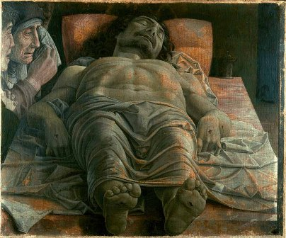 The Dead Christ, by Andrea Mantegna