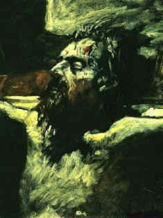 Crucifixion, Nicholas Gay, painting