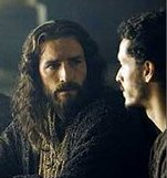 Bible movies, films. Jesus at the Last Supper in 'The Passion of the Christ'