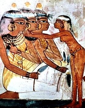 Slaves: Egyptian slave girl