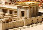 Reconstruction of the great Temple in Jerusalem, built by King Herod the Great