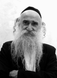 Photograph of an old Jewish man