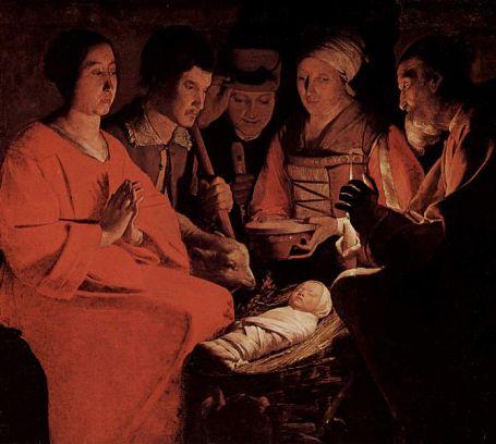 Childbirth in ancient times: George de la Tour, the Newborn