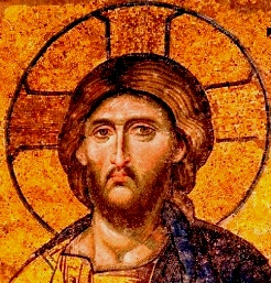 Divorce in the Bible: Mosaic picture of Jesus Christ, Hagia Sophia
