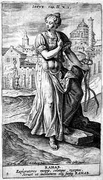 Rahab, by Jan Collaert