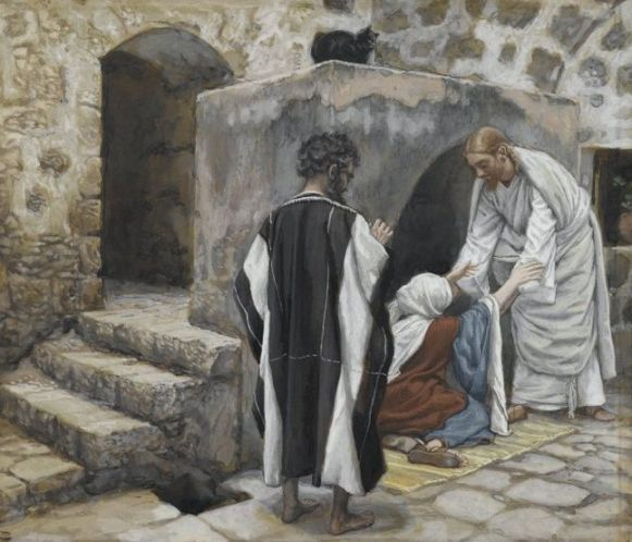Healing of Peter's mother-in-law, James Tissot