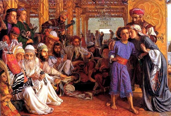 Finding Jesus in the Temple, William Holman Hunt
