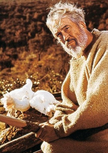 John Huston as Noah in the movie 'The Bible'