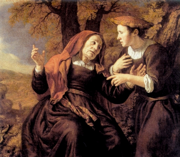 Naomi and Ruth, Jan Victors