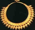 Ancient gold necklace