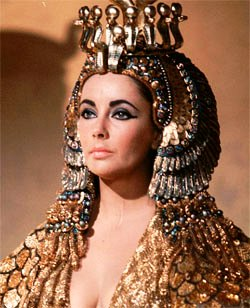 Bad men in the Bible - and a woman. Queens in the ancient world wore ritual clothing and make-up as part of their public display