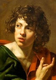 Revelation / Apocalypse. John, author. Painting by Simon Vouet