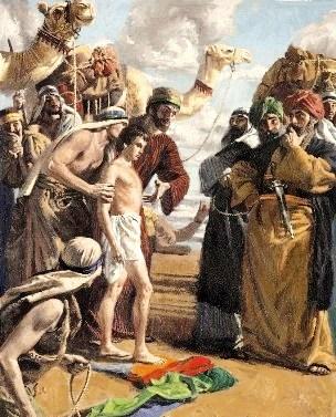 Slaves: Joseph sold as a slave
