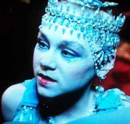 Salome as a degenerate seductress, in a Ken Russell production