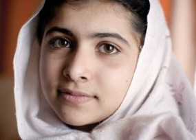 Clear-eyed, calm young woman from the Middle East